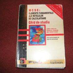 MCSE: Elemente fundamentale ale retelelor de calculatoare - Carte baze de date