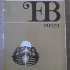 Poezii - Emil Botta, 389587 - Carte poezie