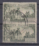 Anglia / Colonii, NEW ZEALAND, 1936, stampilate (PB)
