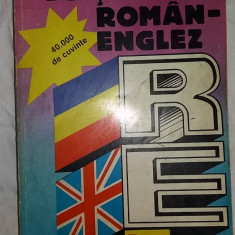 Andrei Bantas – Dictionar Roman-Englez (40.000 de cuvinte) teora