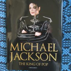 Chris ROBERTS - MICHAEL JACKSON THE KING OF POP (carte - album DE LUX - NOU!!!) - Carte de lux