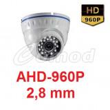 CAMERA SUPRAVEGHERE DOM AHD 960P SONY 1, 4 MP, 2, 8 MM - Camera CCTV