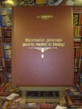 "Sahleanu Victor - Matematici generale pentru medici si biologi vol. II ""A4655"""