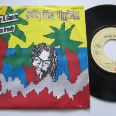 "Peter Tosh - Johnny B. Goode (1983, EMI) Disc vinil single 7"" hit reggae"