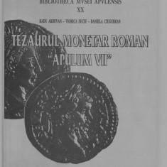 "CATALOG DE MONEDE TEZAURUL MONETAR ROMAN,, APULUM VII"""