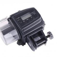 Hranitor automat pestiu acvariu - Ecran LCD - Nou