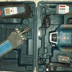 Laser Bosch GRL 50HV(SET)+Detector Bosch DMF 10 Professional - Nivela laser rotativa