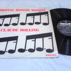 DISC VINIL LP CLAUDE BOLLING-ORIGINAL BOOGIE WOOGIE 1968 STARE EXCELENTA - Muzica Jazz