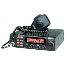 Statie radio CB President JFK II ASC 40 CH, AM/FM, Multi Norme, Scan, PA, Roger Beep, SWR/Power reflectometru TXMU608