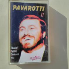 PAVAROTTI II - Puccini, Bellini, Donizetti, Verdi, Mozart - Muzica Opera Altele, Casete audio