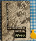 Elemente de dermatologie fiziopatologica Stefan G Nicolau Al Badanoiu