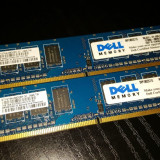 Kit 2GB DDR2 Desktop,1GB x2,Brand Nanya,667Mhz,PC2-5300,CL5,Single Sided