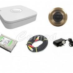 SISTEM SUPRAVEGHERE VIZOR PENTRU USA INTRARE - Camera CCTV