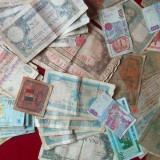 LICITATIE 60 BANCNOTE ROMANESTI si STRAINE = de la 1 Euro!!!