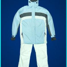 Costum ski—iarna, dama, gros—impermeabil—aerisit, TCM → femei | marimea D 38—40 - Echipament ski