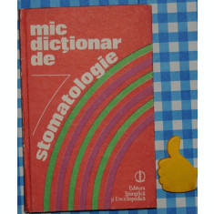 Mic dictionar de stomatologie
