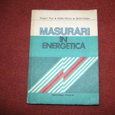 Masurari in energetica - Eugen Pop
