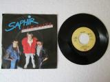 "Saphir - I Am Alive (1986, EMI) Disc vinil single 7"" hit italo-disco"