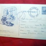 Carte Postala ICM-Reciclare fier vechi, cod 580/1961, circulat Ciurea-Bucuresti - Carte postala tematica, Circulata, Printata