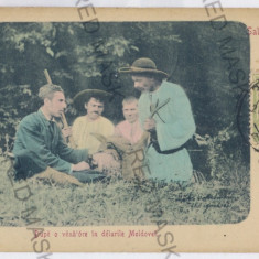 3101 - Moldova, after the HUNT - old postcard - used - 1905 - Carte Postala Moldova 1904-1918, Circulata, Printata