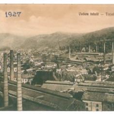 3132 - Caras Severin, RESITA - treble old postcard - used - 1927 - Carte Postala Banat dupa 1918, Circulata, Printata