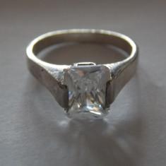 Inel argint cu zirconiu - 193