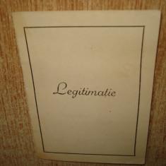 LEGITIMATIE MEDALIA JUJBILIARA A XX-A ANIVERSARE A ZILEI FORTELOR ARMATE R.P.R