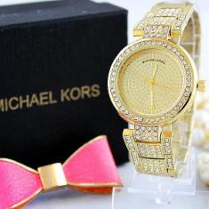Ceas Luxury Michael Kors Diamond MK-1 Bratara Cristale Dama Auriu 3 CULORI