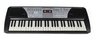 ORGA PROFESIONALA CU MP3 PLAYER USB,54 TASTE,ALIMENTATOR,MICROFON,220V,STATIV.