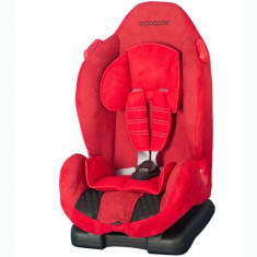 Scaun Auto Faro 9-25 kg Rosu - Scaun auto copii grupa 1 (9-25 kg) Coccolle, 1 (9-25 kg), Isofix