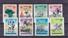 Cercetasi ,scutism , Rwanda. foto