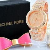 Ceas Luxury Michael Kors Diamond MK-1 Bratara Cristale Dama Rozaliu 3 CULORI - Ceas dama Michael Kors, Lux - elegant, Quartz, Inox, Cronograf