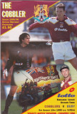 Program meci fotbal NORTHAMPTON TOWN FC - BURY FC 12.08.1995 (Anglia)