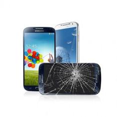 Inlocuire Geam Sticla Samsung I9500 Galaxy S4 Albastru - Reparatie telefon