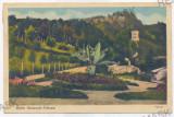 3126 - Valcea, OLANESTI, Park - old postcard - used - 1938