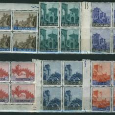 San Marino - blocuri de 4 timbre neuzate mnh