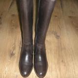 Superbe cizme dama NOI piele foarte comode Sz 39 !