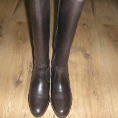 Superbe cizme dama NOI piele foarte comode Sz 39 ! - Cizma dama, Culoare: Coffee, Piele naturala