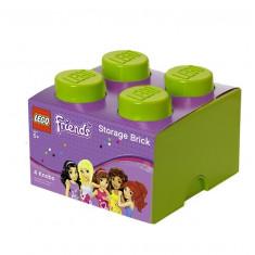 Cutie depozitare LEGO Friends 2x2 verde deschis