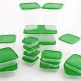 Set 17 caserole din plastic pentru alimente - super calitate - Noi - Caserola