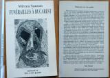 Mircea Saucan , Funeralii la Bucuresti , Minimum , Tel Aviv , 2000 , autograf