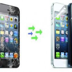 Inlocuire Geam Sticla iPhone 5 Alb - Reparatie telefon