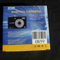 DIGITAL CAMERA-ACARI-DISC+CABLURI+CUTIE ORIGINALA-