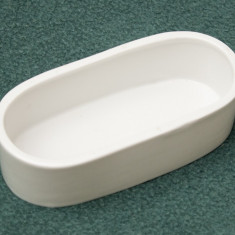 Vas oval ceramica (jardiniera) de dimensiuni mici - Ghiveci