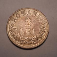 2 lei 1875 Piesa de Colectie - Moneda Romania