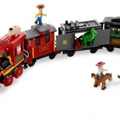Urmarirea trenului (7597) - LEGO Super Heroes