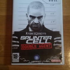JOC WII TOM CLANCY's SPLINTER CELL DOUBLE AGENT ORIGINAL PAL / by DARK WADDER - Jocuri WII Ubisoft, Shooting, 18+, Multiplayer