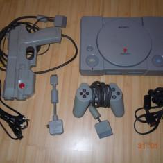 Sony Playstation (PSX, PS1) cu toate accesoriile si un joc Bonus - PlayStation 1