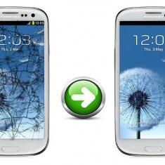 Inlocuire Geam Sticla Samsung I9300 Galaxy S3 Alb - Reparatie telefon