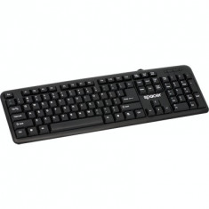 Tastatura SPACER model: SPKB-520 layout: US NEGRU USB, Cu fir